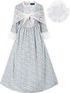 blue civil war dress