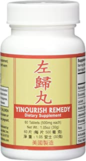 Yinourish Remedy Herbal Supplement Helps for Promote Liver & Kidney Functions Along with Strengthening Tendon & Bones 500m...