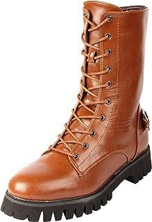 D SHOE LOUNGE Women Mid-Top Boots