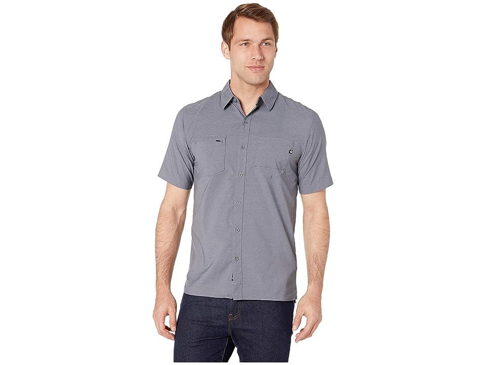Marmot Innesdale Short Sleeve Shirt (Steel Onyx) Men