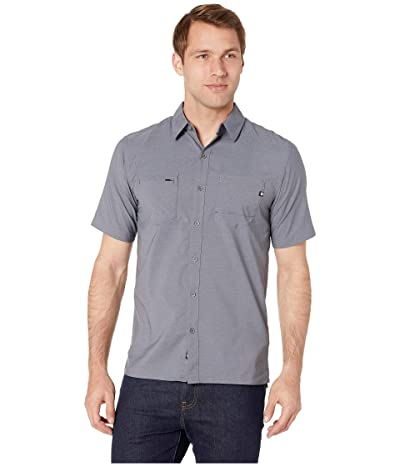 Marmot Innesdale Short Sleeve Shirt (Steel Onyx) Men