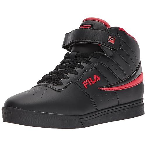 Black Fila Shoes: Amazon.com