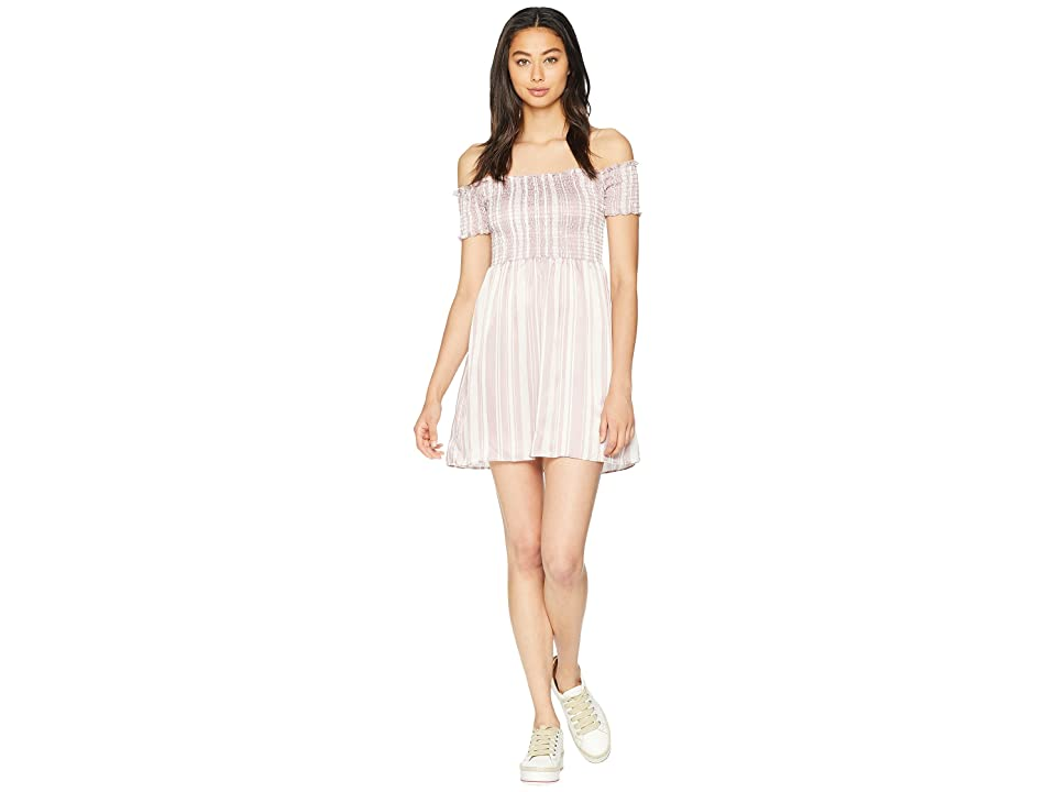 Show Me Your Mumu Dolly Smocked Dress (Slipper Stripe Sheen) Women