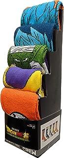 Dragon Ball Z Super Broly 5-Pack Casual Crew Socks for Men