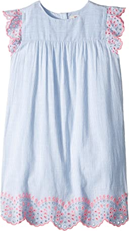 Multi Eyelet Flutter Sleeve (Toddler/Little Kids/Big Kids)