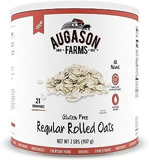 Augason Farms Gluten-Free Regular Rolled Oats #10 Can, 32 oz