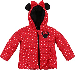 Girls' Authentic Character Winter Puffer Jacket with Hood