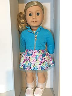 American Girl Truly ME #78 Doll Curly Blond Hair Green Eyes