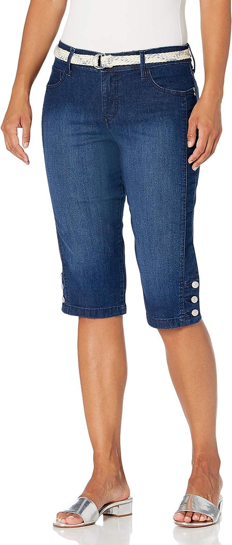 Gloria Vanderbilt Women's Austin Mall Mila Recommendation Belted Skimmer Short