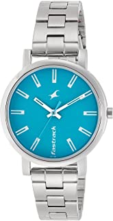 Fastrack Fundamentals Blue Dial Analog Watch for Women
