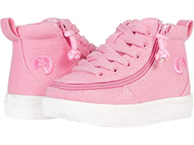 BILLY Footwear Kids Classic WDR Wide High-Top (Toddler) (Pink) Kid