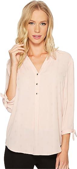 Ivanka Trump - Pullover Tie Sleeve Blouse