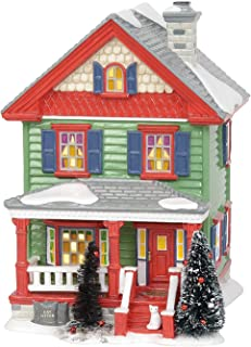 Department 56 Original Snow Village Aunt Bethany's Lit House