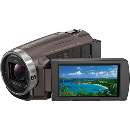 ソニー ビデオカメラ Handycam 光学30倍 内蔵メモリー64GB ブロンズブラウン HDR-PJ680 TI