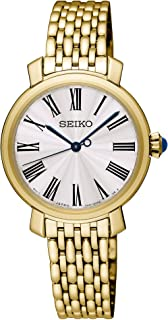 Seiko Women SRZ498P Year-Round Analog Quartz White Watch