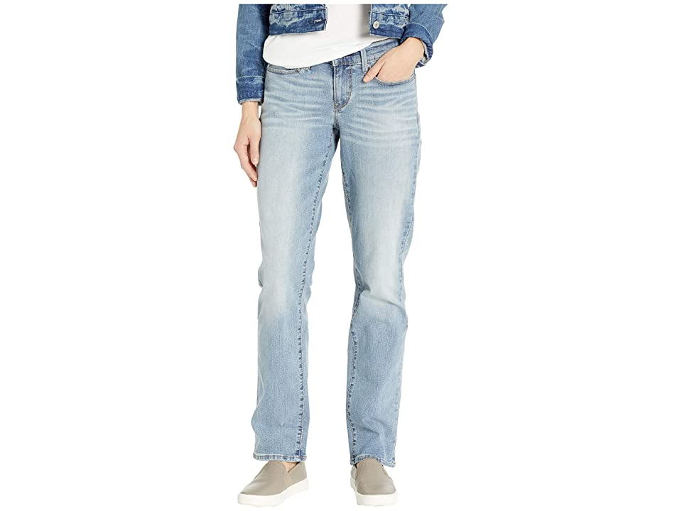 Signature by Levi Strauss & Co. Gold Label Curvy Straight Jeans (Blue Velvet) Women