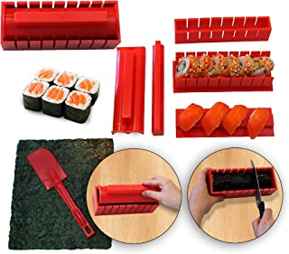 RenGard Sushi Making Kit Deluxe Edition mit komplettem Sushi