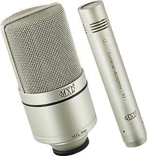 MXL 990/991 ضبط میکروفن خازن بسته