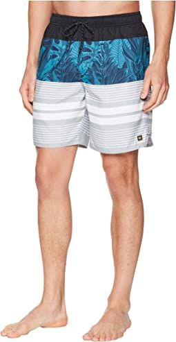 Quiksilver Waterman Jungle Thinking Volley Swim Trunk