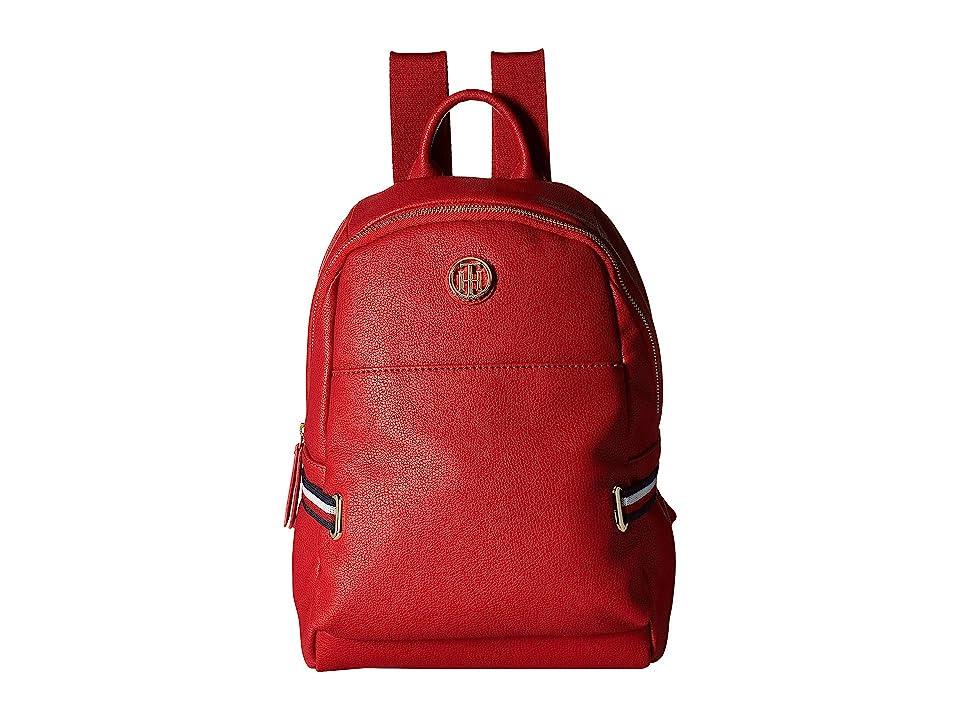 Tommy Hilfiger Sanford Backpack (Red) Backpack Bags
