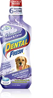 Dental Fresh Water Additive - Original Formula for Dogs - Clinicially Proven, Simply Add to Pet's Water Bowl to Whiten Teeth