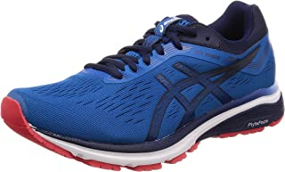 ASICS Men's GT-1000 7 Road Running Shoes, Blue (Race