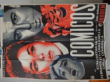 Original Mexican Movie Poster Comicos Elisa Galve Fernando Rey Juan Antonio Bardem