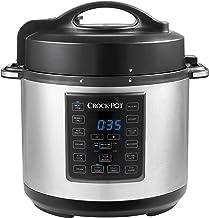 Crock-Pot Express Crock Multi-Cooker | Slow Cooker, Sauté, Pressure Cooker, Rice Cooker & Food Steamer | 5.7L (4-6 People)...