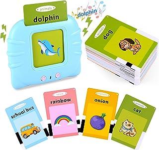 فلش کارت های MOLGSDTH اسباب بازی های آموزشی برای کودکان 2-6 ساله ، 112 عدد 224 کلمه بینایی با صدای شنیدنی ، اسباب بازی های الکترونیکی پیش دبستانی مونتسوری و هدیه تولد برای کودکان نوپا