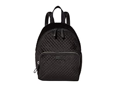 Vera Bradley Iconic Mini Backpack (Black) Backpack Bags