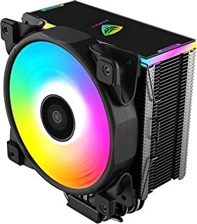 Pccooler GI-D56A CPU Cooler Moonlight Series   VotexPro Silent PWM Fan 120mm   Definable ARGB LED Top Guard Sync with CPU ...