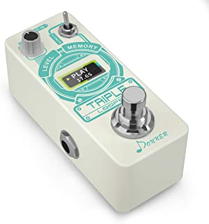 Donner Triple Looper Guitar Effect Pedal with Time...