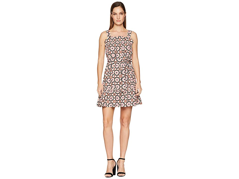9d3df9076269 Kate Spade New York Floral Mosaic Poplin Dress (Pearl Pink Multi) Women