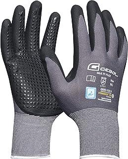Gebol 528921 Guante de trabajo de nylon, tejido fino con