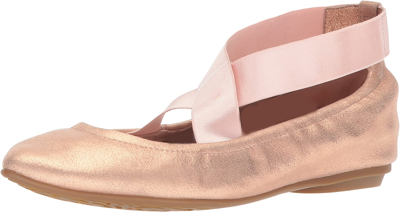 Taryn pink Women's Edina Powder Metallic Ballet Flat