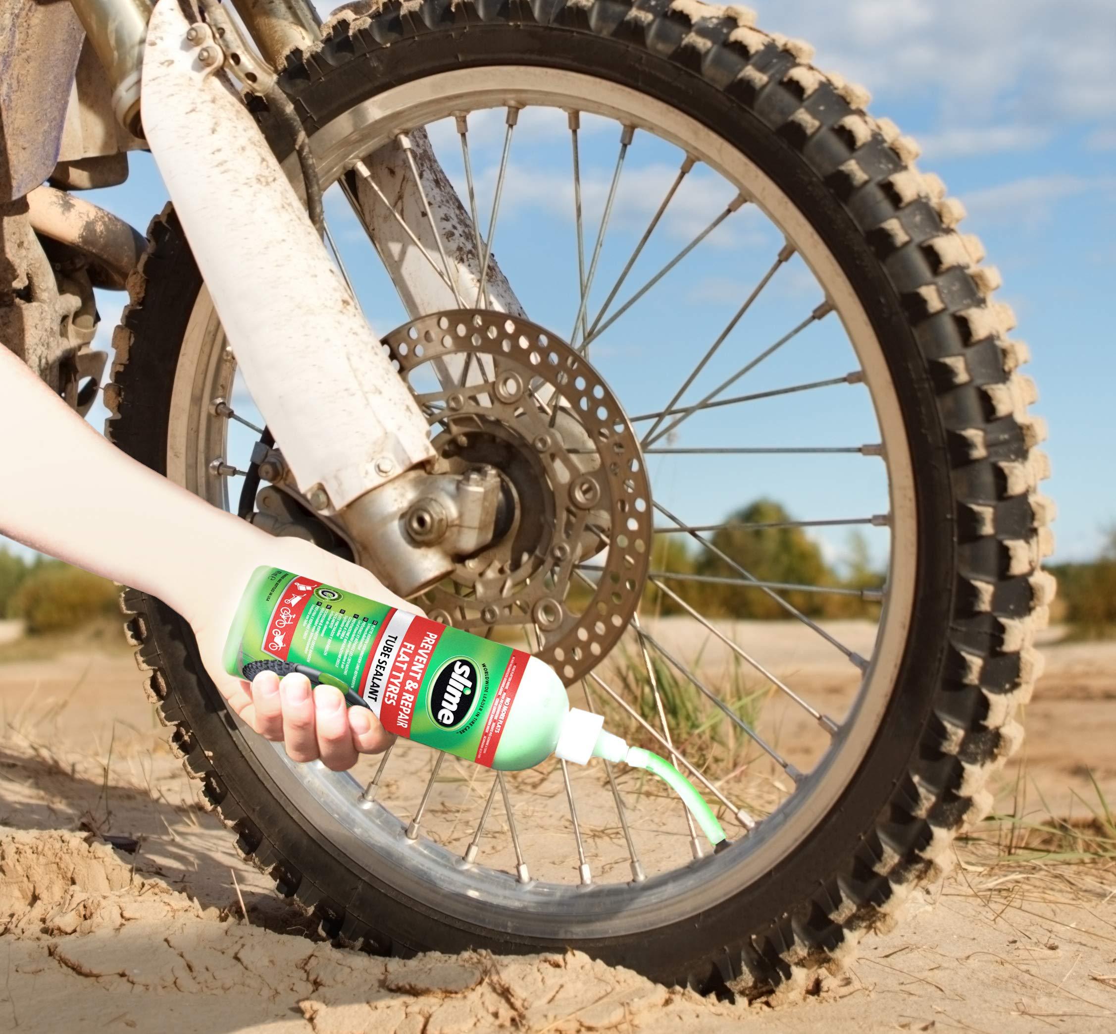 Slime 10026 Sellante de Reparación de Pinchazo de Neumático con ...