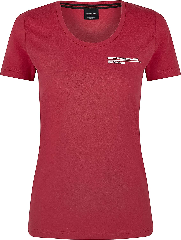 Porsche Motorsport Factory outlet Rapid rise Women's T-Shirt Red