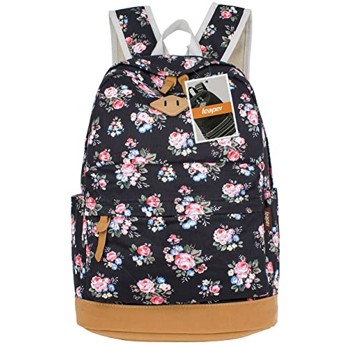c38e226a718 Leaper Fashion School Backpack for Women College Bookbag Shoulder Bag  Daypack