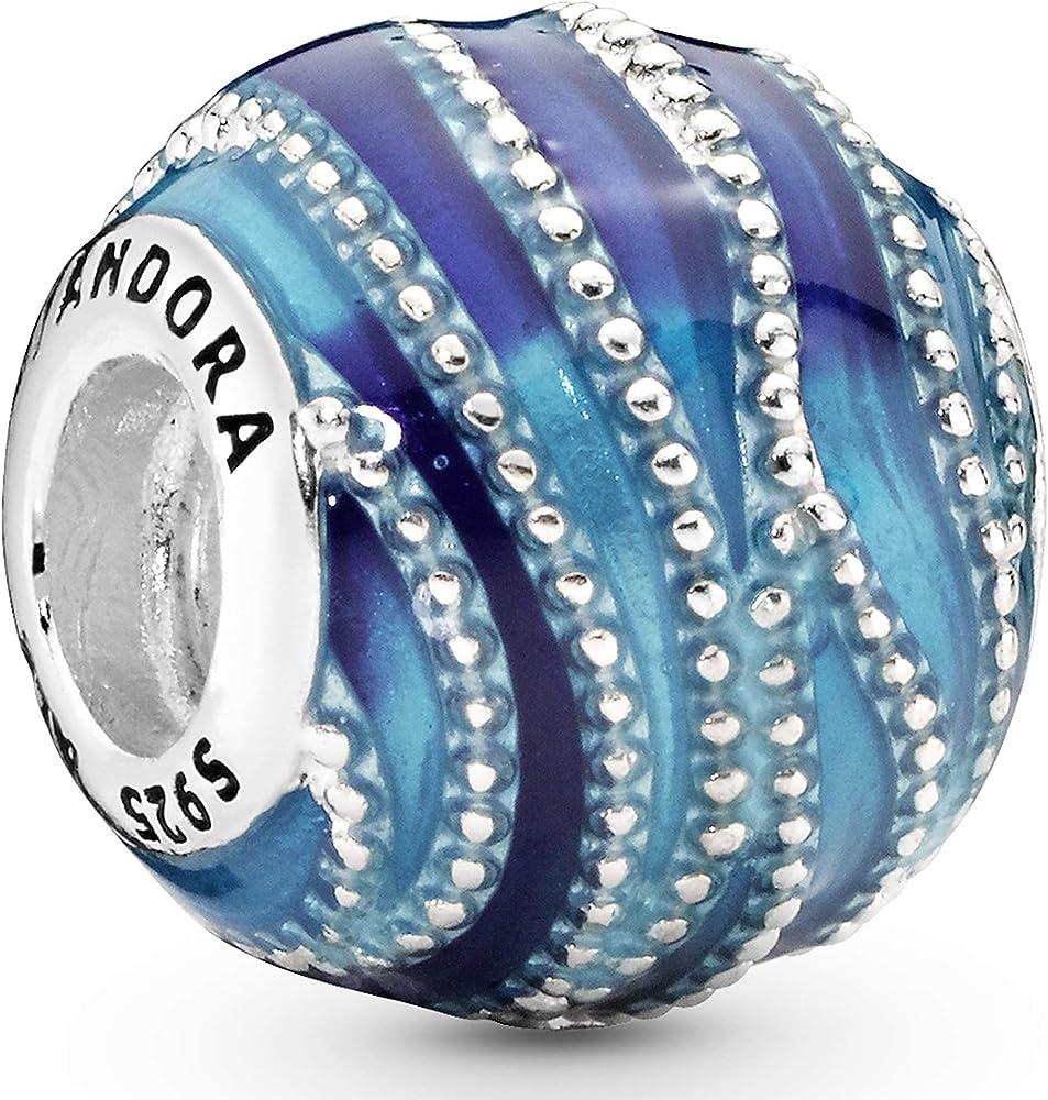 Pandora, bead charm,ciondolo per  donna,in  argento 797012ENMX