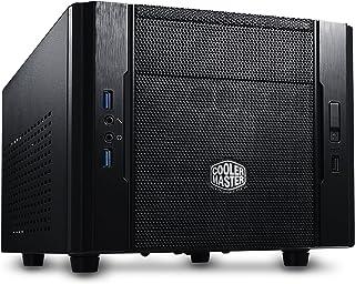 Cooler Master Elite 130 - Cajas de ordenador de sobremesa 'Mini-ITX, USB 3.0, Panel lateral de malla' RC-130-KKN1