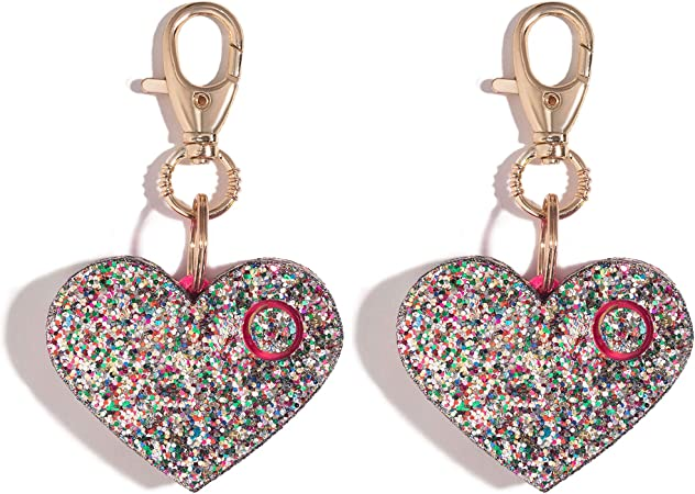 cute security alarms for protection, heart shaped
