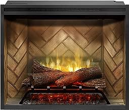 DIMPLEX NORTH AMERICA REVILLUSION Electric Fireplace, Black
