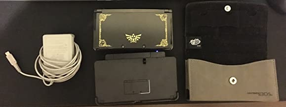 Nintendo 3DS - Limited Edition with The Legend of Zelda Ocarina of Time 3D [video game]