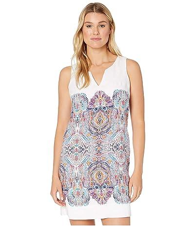 Tommy Bahama Brilliant Bazaar Shift Dress (White) Women