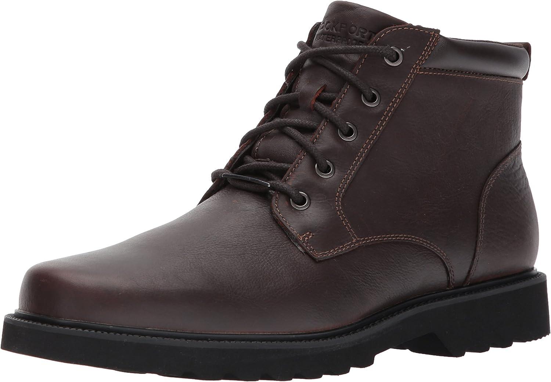 Rockport Men's Northfield WP Plain Toe Toe Toe Chukka Stiefel, Chocolate Waterproof, 8 XW US 5c5