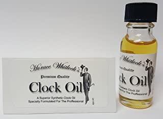 Horace Whitlock Synthetic Clock Oil
