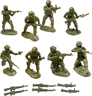 TSSD Vietnam UNITED STATES MARINES: 16 OD GREEN 1:32 Plastic Army Men Figures