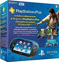 PlayStation Vita (PS Vita) - Console [Wi-Fi] con Memory Card 8 GB e PlayStation Plus 90 gg.