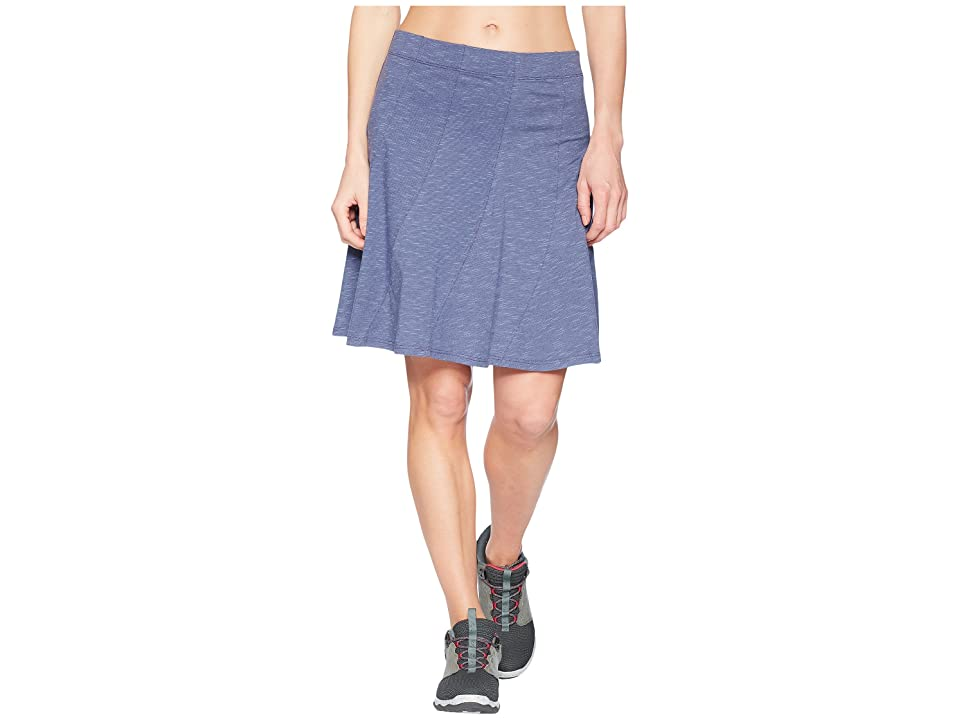 Toad&Co Chachacha Skirt (Blueberry) Women