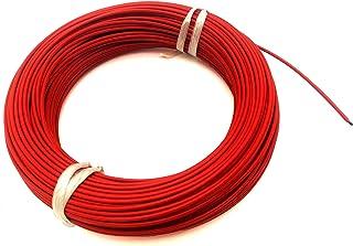 DZF697 10 mètres + Kits de Connexion 12K 33OHM FLUOROPLASTIC Fibre Chauffage DE Chauffage Cable DE Plancher Electrique Ele...